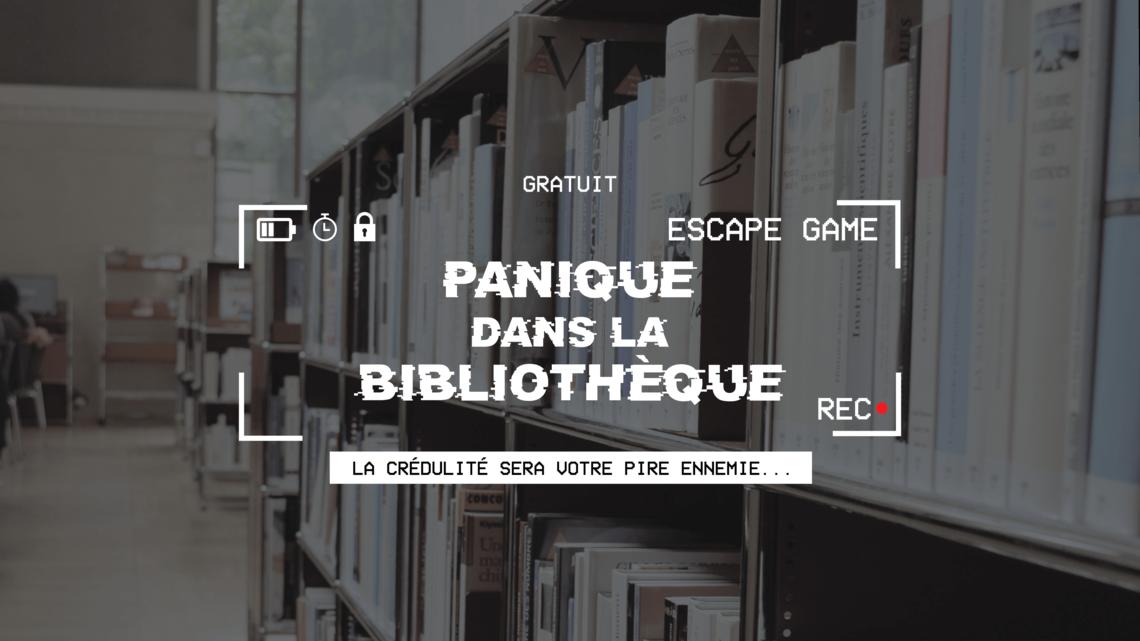 Un escape game clé en main pour les bibliothèques sur le thème des idées  reçues
