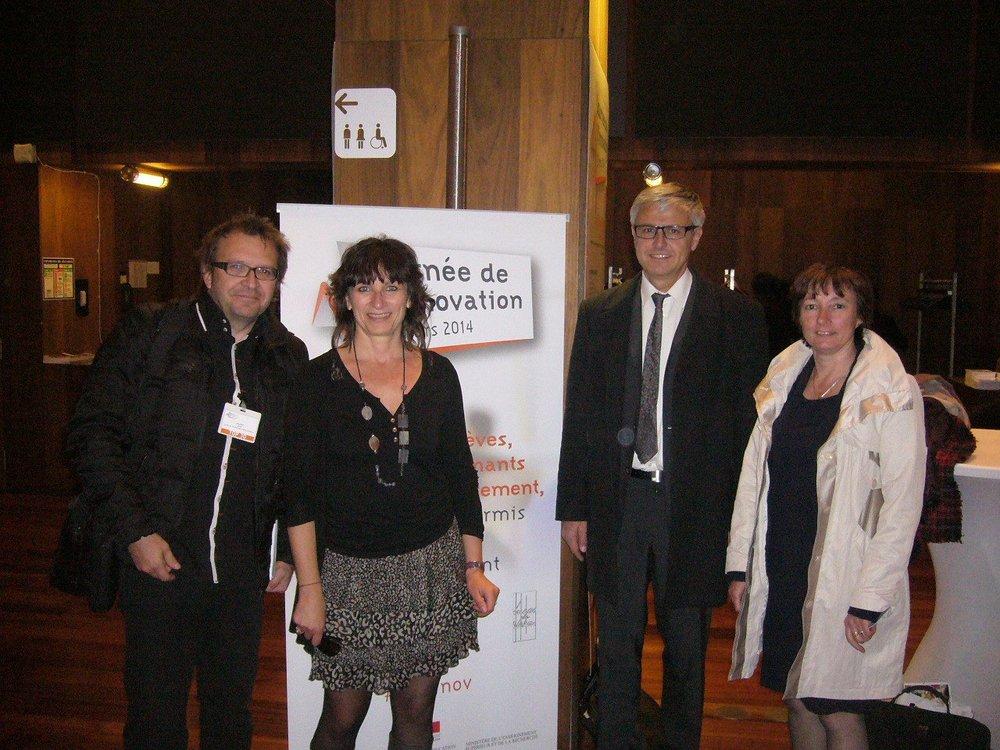 Le lyc e delorme au salon de l 39 innovation paris for Salon de l innovation