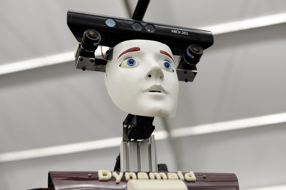 Xl the old care robot dynamaid from nimbro