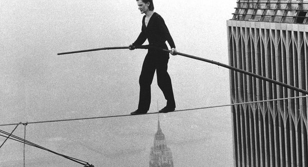 Lg philippe petit world trade center tight rope walk