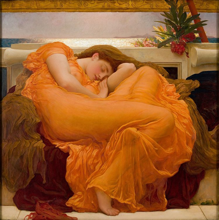 Xl 1079px flaming june  by frederic lord leighton  1830 1896