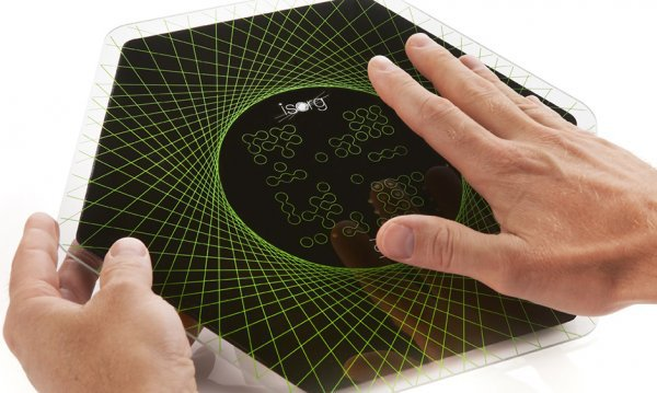 Le Magic Pad : une interface tactile 3D