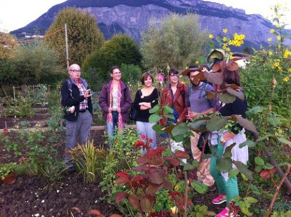Rencontre à la résidence des Vignes, Grenoble - Accord'âges