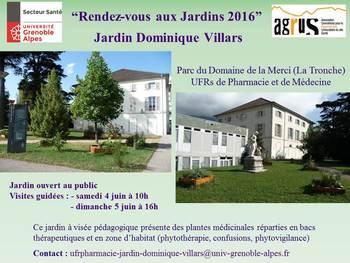 Rendez vous au jardin dominique villars echosciences for Rendez vous au jardin 2016