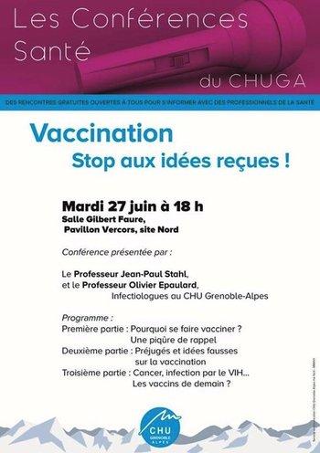 bb1d86f680be0 Vaccination - Stop aux idées reçues !   ECHOSCIENCES - Grenoble