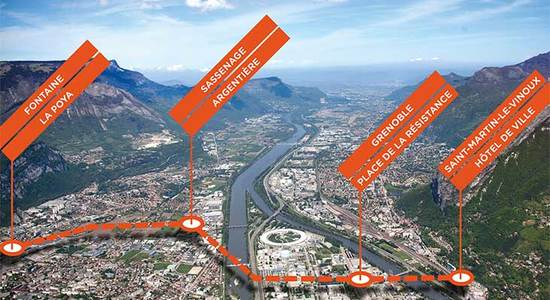 Lg metrocable grenoble grand