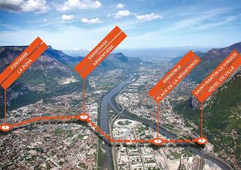 Xl metrocable grenoble grand