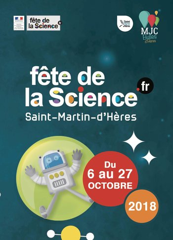 """Résultat de recherche d'images pour """"fête de la science 2018 st martin d'heres"""""""