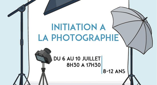 Lg affiche stage initiation a la photographie